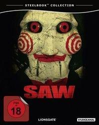 Saw - Steelbook - US Director's Cut (Blu-ray Disc) für 9,99€ @Müller