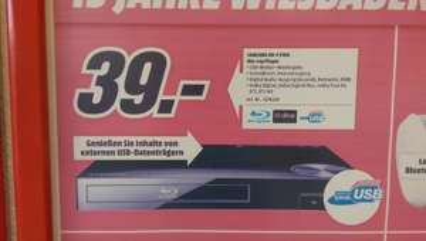 Samsung F5100 Blu-ray Player lokal? MediaMarkt Wiesbaden