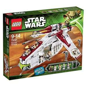 LEGO® Star Wars Republic Gunship (75021) für 89€ @Real