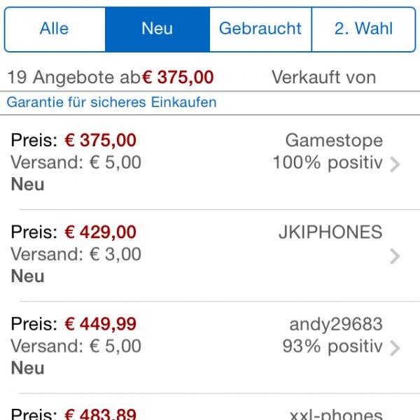 iPhone 5 32 GB schwarz