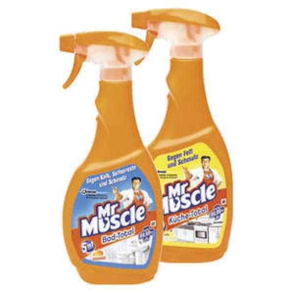 [FAMILA NO] 6x Mr. Muscle 5in1 Bad-/ Küchenreiniger 500ml 8,94€ = 1,49€/Stück