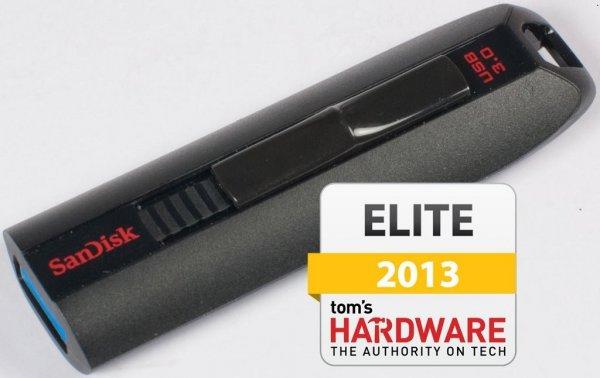 SanDisk Extreme 64GB USB-Stick (USB 3.0, bis zu 190 MB/s) schwarz