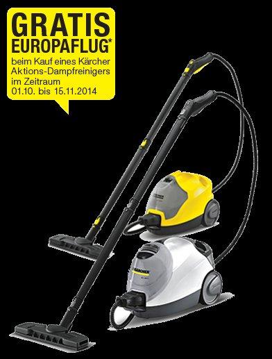 !!! Freiflug Europa von Kärcher !!! Bis 15.11.2014 teilnehmen!