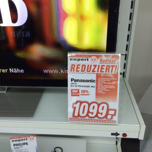 Panasonic TXP50VTW60 1099€ Flensburg Expert