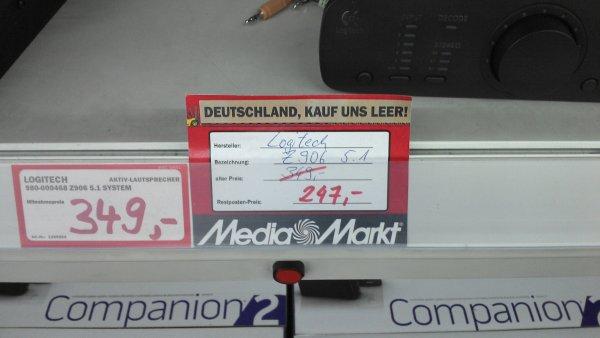 [Lokal MM Stuttgart-Vaihingen]- Logitech Z906 5.1 Heimkino System