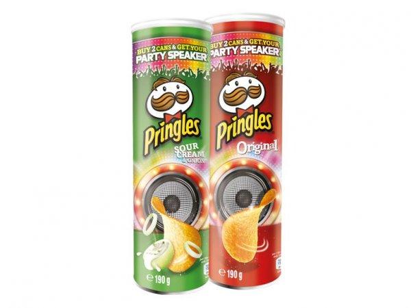 [LIDL] Pringles Party Speaker für 5,38€ (inclusive 2x Pringles Dosen)