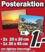 MEDIA MARKT -> 30x45cm Poster  *NUR 1 €*