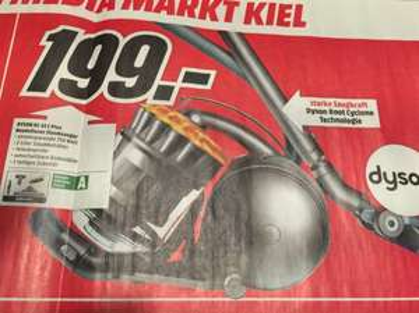 Lokal MM Kiel, Schwentinental und Rendsburg Dyson DC 33 für 199€