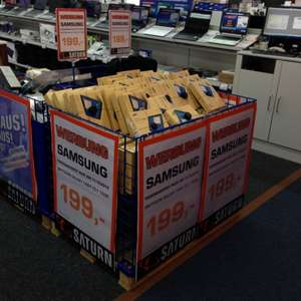 "Nur am 11.10.2014 Samsung TAB 4 10.1"" für 199,-€ statt 249,- € im Saturn Köln Hansaring"