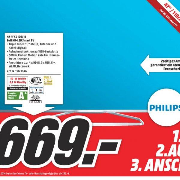 Lokal Mediamarkt weiterstadt - Philips 47pfk7109/12 für 669€ - idealo ab 829