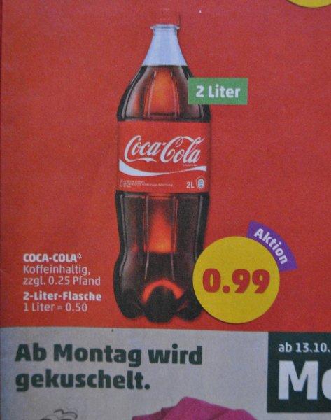 [Penny] Coca Cola 2 Liter für 0,99€