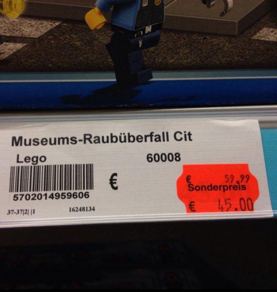 Lego City 60008 - Museums-Raubüberfall 36% unter UVP-Forchheim