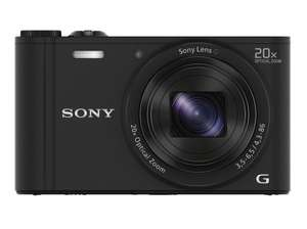 Sony DSC-WX350 Digitalkamera (18 Megapixel, 20-fach opt. Zoom, 7,5 cm (3 Zoll) LCD-Display, NFC, WiFi)