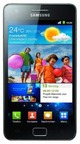 Samsung Galaxy S2 + 2x Talkline Vodafone Clever Flex Plus (je 7,50/Monat) [Eteleon/ebay]