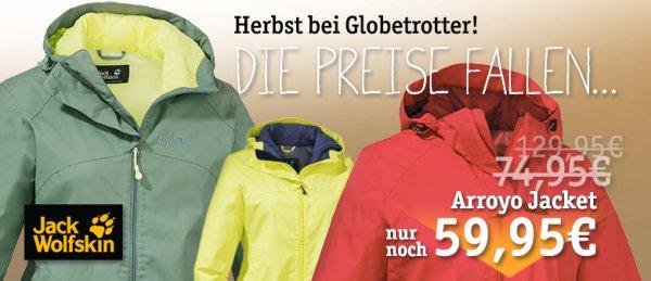 Globetrotter - Jack Wolfskin Aktion - bis zu 50%