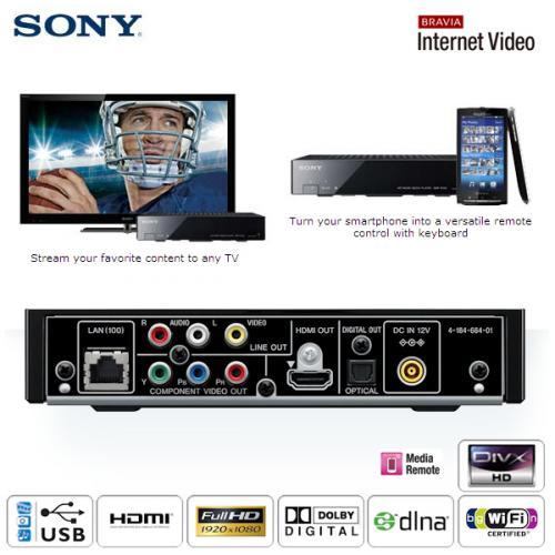 Netzwerk-Mediaplayer Sony SMP-N100 bei iBOOD nur 75,90 Euro inklusive Versandkosten
