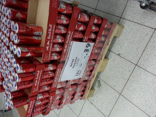 [Kaufland Weiden i.d.OPf.]  Red Bull The Red Edition für 0,39€ zzgl. Pfand