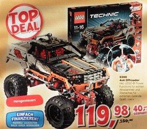 [ToysRus] Lego 9398 Offroader, ferngesteuert, 4x4 Antrieb, ab 16.10. für 120€