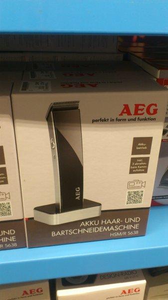 AEG HSM/R 5638 Schwarz Haar- und Bartschneider bei TEDI für 15€