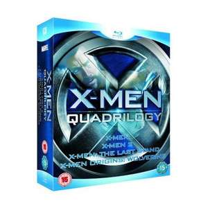 X-Men Quadrilogy [Blu-ray] für 17.49€ @ play.com
