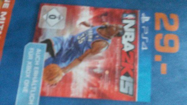 [LOKAL? - Hagen] NBA2K15 auf der Next Gen für 29€