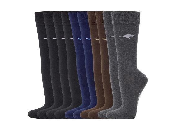10 Paar Kangaroos Socken extrem günstig (ohne VSK)
