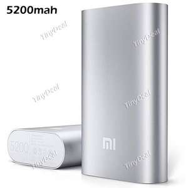[Tinydeal] Original XIAOMI 5200mAh Power Bank für 9,88€