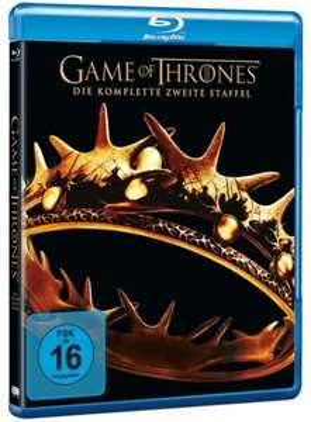 [Alphamovies] Game of Thrones Staffel 2 Bluray für 20,99 Euro inkl. Versand, 1 & 3 auch günstig, alle für 68,97 Euro