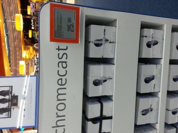 [lokal Berlin] chromecast 25€ Saturn Mall of Berlin