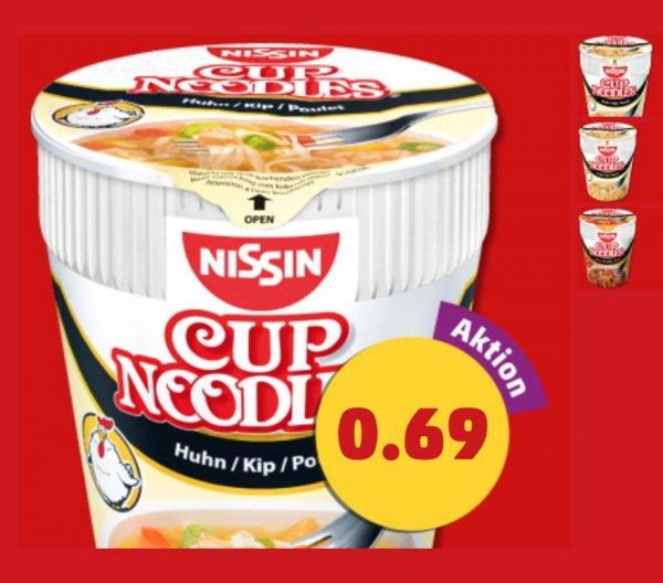 @Penny - Nissin Cup Nooldes versch. Sorten