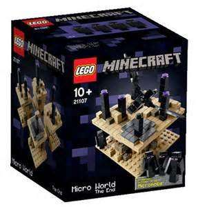 Lego Minecraft 21107 Micro World - Das Ende