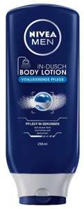 Amazon: Nivea Men In-Dusch Body Lotion, 4er Pack (4 x 250 ml) + Nivea Men Sensitive Mini-Set für 5,49€