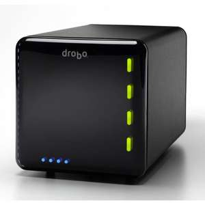 Drobo (DDR3A31 / 3. Generation) für 206,99€ @ Notebooksbilliger - 4-Bay DAS