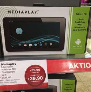 "Mediaplay Tablet 7 ""  LOKAL SELB"