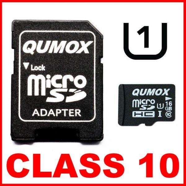 [eBay] Qumox 16GB MicroSD CLASS 10 | Raspberry Pi kompatible | 7,42€