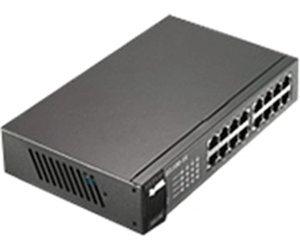"ZyXEL Gigabit-Switch 16x LAN ""GS1100-16"" (schwarz) für 62,90€ @ ZackZack"