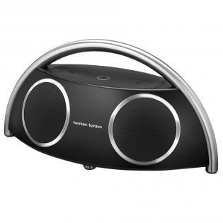 Harman Kardon Go+Play wireless Portables High-End Bluetooth Lautsprechersystem mit EU- und UK-Netzstecker - Schwarz für 235,-@Amazon Blitz ab 17.00 Uhr