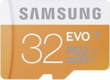 Samsung Memory 32GB EVO MicroSDHC UHS-I Grade 1 Class 10 Speicherkarte Memory Card (bis zu 48MB/s Transfergeschwindigkeit) mit SD Adapter für 14,75 @Amazon Blitz ab 17.00 Uhr