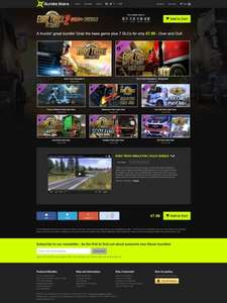 Euro Truck Simulator 2 Gold+ Bundle