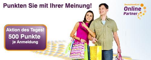 500 Deutschlandcard-Punkte (entspricht 5€ für Edeka/Marktkauf-Einkauf) GRATIS