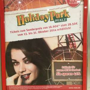 [REWE] Holiday Park Tickets - 16,90€ - eventuell Lokal