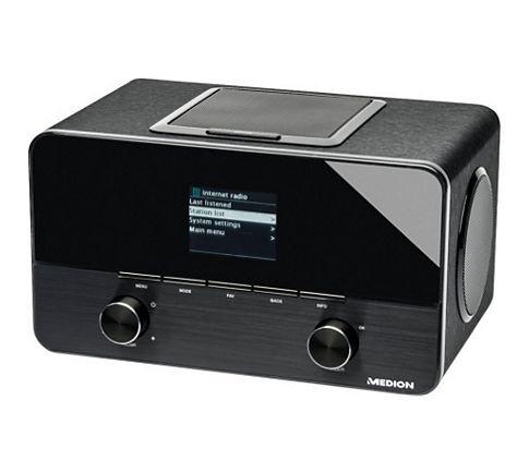 Wireless LAN Internet Radio MEDION® LIFE® P85025 (MD 86955) für 99,95 € @plus.de (zusätzlich 3,75% quipu möglich)