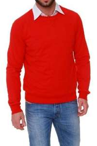 [AMAZON] GANT Sweatshirt SUNBLEACHED C-NECK, Farbe: Rot