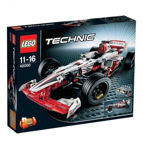 Nur HEUTE: LEGO Grand Prix Racer  42000 bei Galeria Kaufhof für 52,79 Euro