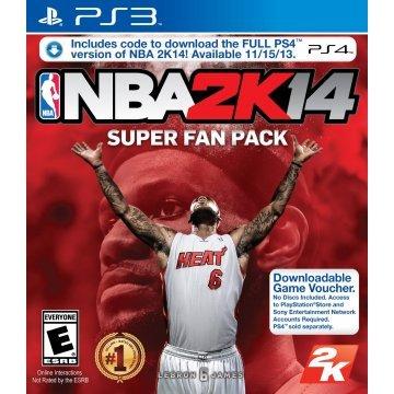 NBA2K14 Super Fan Pack (PS3 & PS4) (US-Digital) für 25,14€ @Play Asia