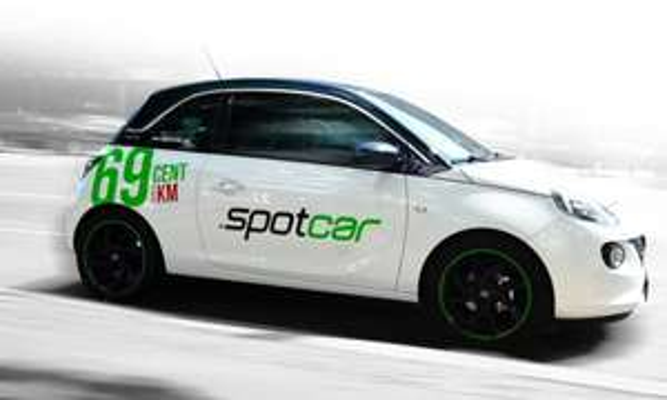[Carsharing in Berlin] spotcar für 9,90€ + 25 Freikilometer statt 47,15€