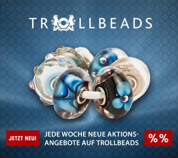 Trollbeads Preisaktion bei Brillante Trends (jede Woche neu)