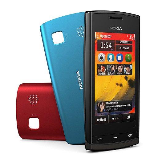 Nokia 500 Smartphone (8,1 cm (3,2 Zoll) Display, Touchscreen, 5 Megapixel Kamera, 2GB Speicher) für 47,95 € @ Ebay (B-Ware)