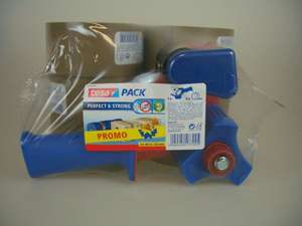 6 Rollen Tesa Paketband (Strong) + Tesa Handabroller  [ebay]