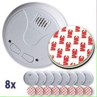 8x Nemaxx Funkrauchmelder inkl. Magnetbefestigung für 49,90€ [Amazon]